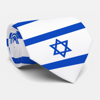 Flag of the State of Israel Tie