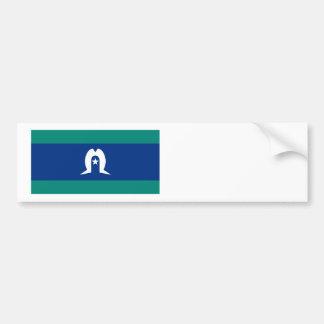 Flag of the Torres Strait Islands Bumper Sticker