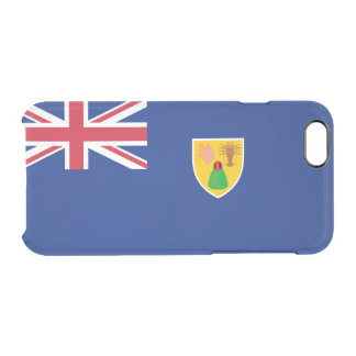 Flag of the Turks and Caicos Clear iPhone Case