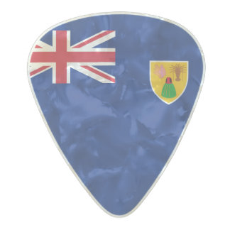 Flag of the Turks and Caicos Guitar Picks