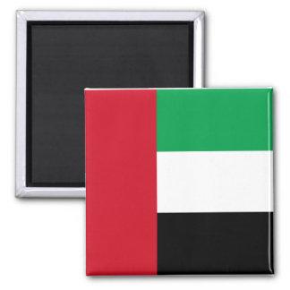 Flag of the United Arab Emirates Square Magnet