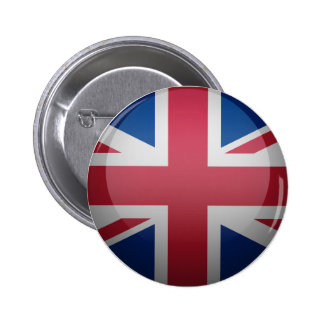 Flag of the United Kingdom 2 Inch Round Button