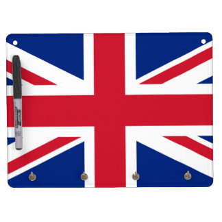 Flag of the United Kingdom Dry Erase Whiteboard