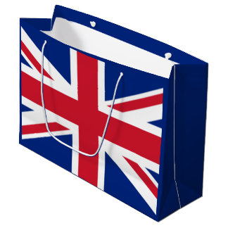 Flag of the United Kingdom Large Gift Bag