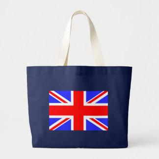 Flag of the United Kingdom Large Tote Bag