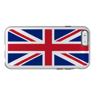 Flag of the United Kingdom Silver iPhone Case Incipio Feather® Shine iPhone 6 Case