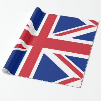 Flag of the United Kingdom. The Union Jack. Wrapping Paper