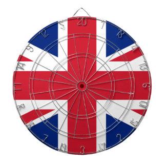 Flag of the United Kingdom (UK) aka Union Jack Dart Board