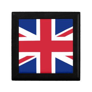 Flag of the United Kingdom (UK) aka Union Jack Keepsake Boxes