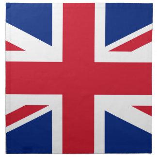 Flag of the United Kingdom (UK) aka Union Jack Napkin