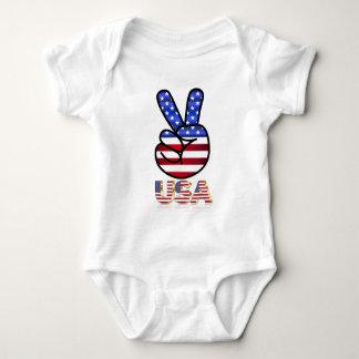 Flag of the United States Baby Bodysuit