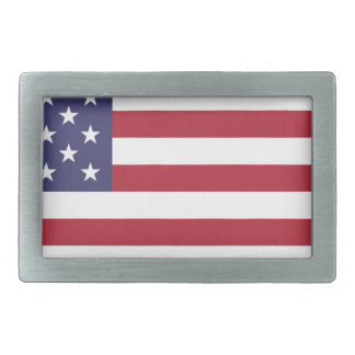 Flag of the United States Belt Buckles