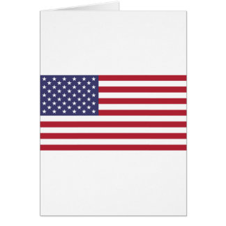 Flag of the United States Card