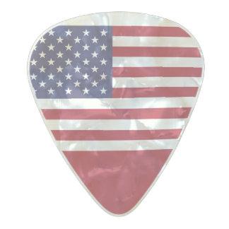 Flag of the United States Guitar Picks