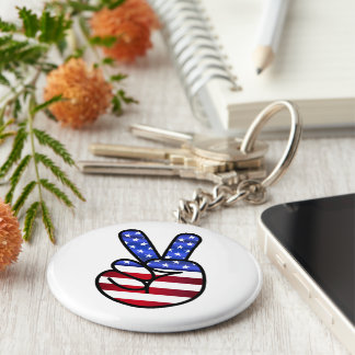 Flag of the United States Keychain