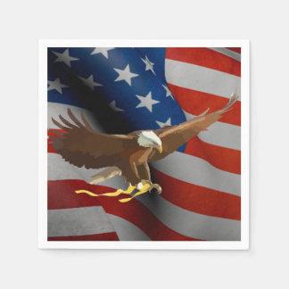 Flag of the United States Napkin
