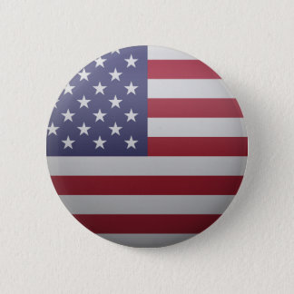 Flag of the United States of America 2 Inch Round Button