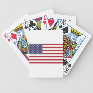 Flag of the United States Poker Deck