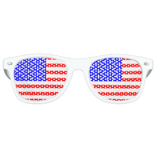 Flag of The United States Retro Sunglasses