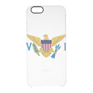 Flag of the US Virgin Is. Clear iPhone Case