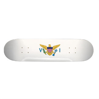 Flag of the US Virgin Is. Skateboard Deck