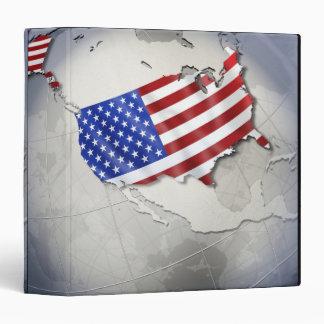 Flag of the USA Binder