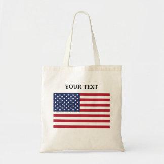 Flag of the USA Tote Bag