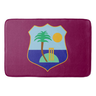 Flag of The West Indies Cricket Bath Mat