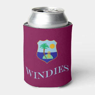 Flag of The West Indies Cricket Can Cooler
