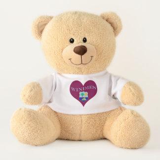 Flag of The West Indies Cricket Teddy Bear