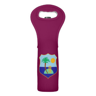 Flag of The West Indies Cricket Wine Bag