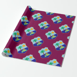 Flag of The West Indies Cricket Wrapping Paper