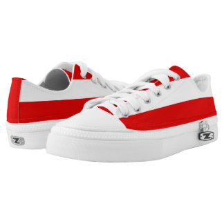 Flag of Thuringia Low-Top Sneakers