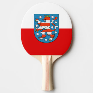 Flag of Thuringia Ping Pong Paddle