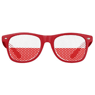 Flag of Thuringia Retro Sunglasses