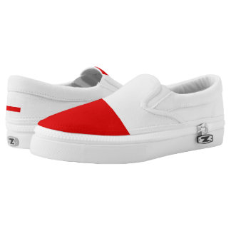 Flag of Thuringia Slip-On Sneakers