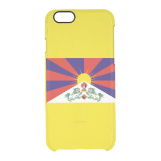 Flag of Tibet Clear iPhone Case