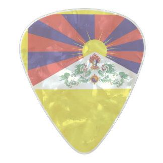 Flag of Tibet Guitar Picks