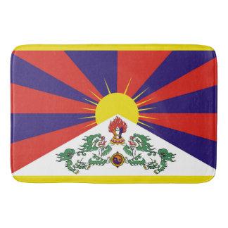 Flag of Tibet  or Snow Lion Flag Bath Mat