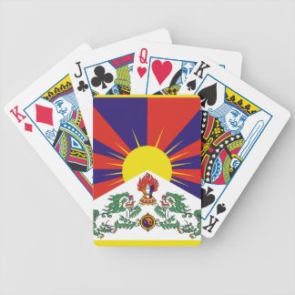 Flag of Tibet  or Snow Lion Flag Bicycle Playing Cards