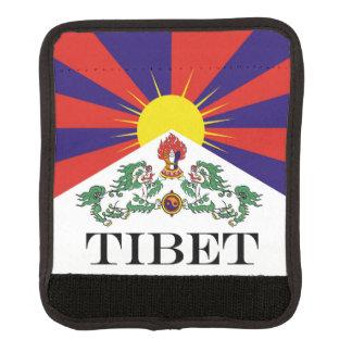 Flag of Tibet  or Snow Lion Flag Luggage Handle Wrap