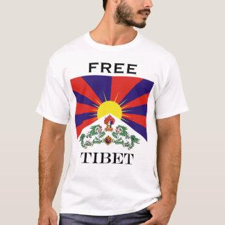 Flag of Tibet  or Snow Lion Flag T-Shirt