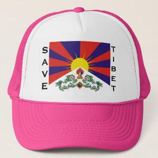 Flag of Tibet  or Snow Lion Flag Trucker Hat