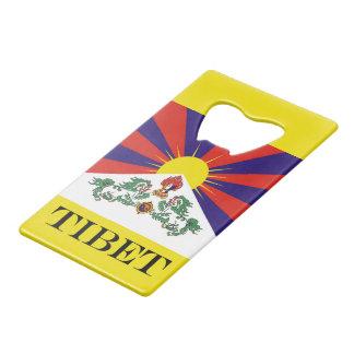 Flag of Tibet  or Snow Lion Flag Wallet Bottle Opener