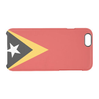 Flag of Timor-Leste Clear iPhone Case