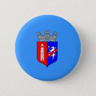 Flag of Tirana, Albania 2 Inch Round Button
