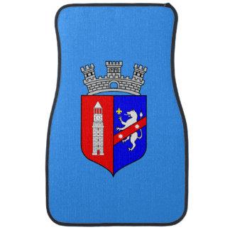 Flag of Tirana, Albania Car Mat