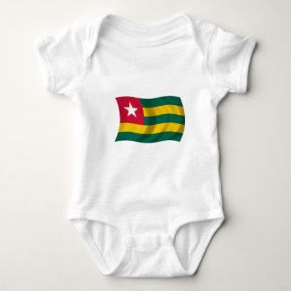 Flag of Togo Baby Bodysuit