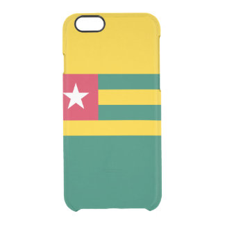 Flag of Togo Clear iPhone Case