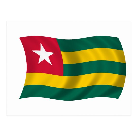 Flag of Togo Postcard